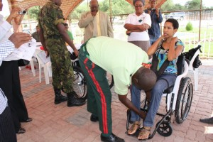 donation of wheelchairs