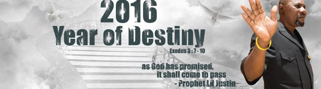2016, the year of destiny